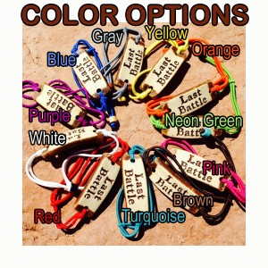Wrist Band Color Options