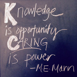 Knowledge & Caring